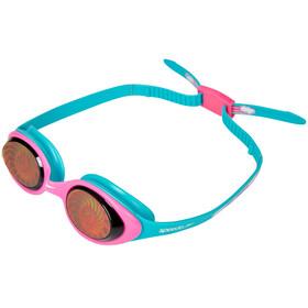 speedo Illusion 3D Printed Goggles Kinderen, blue/vegaspink/hologram